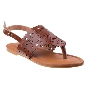 NWT Girls Brown Sandals